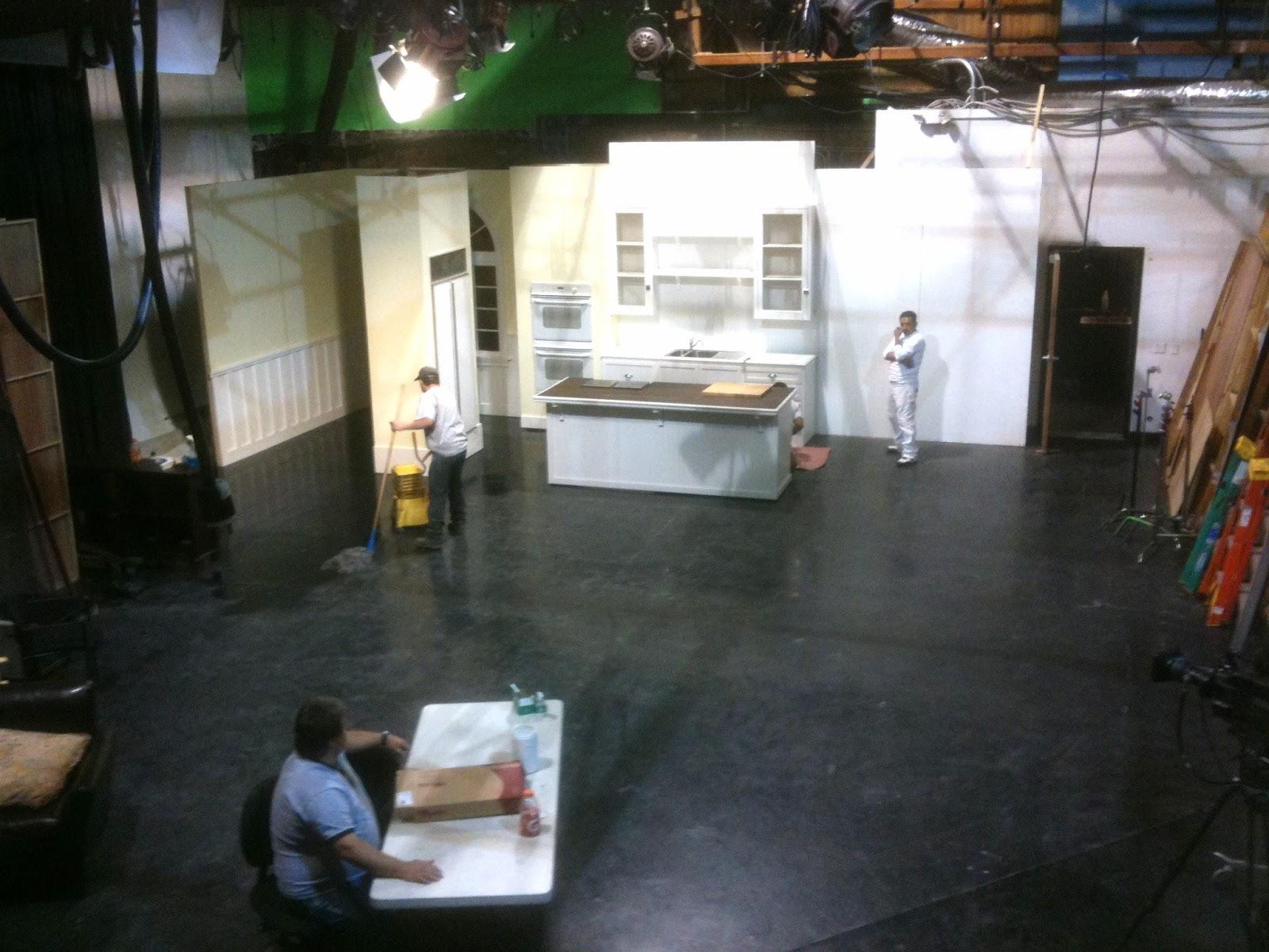 TV Studio Set Kitchen