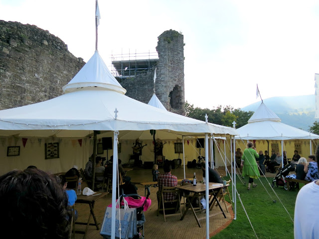 Abergavenny Food Festival Live Music Tent