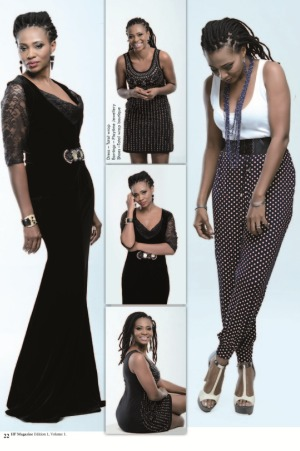 Nse Ikpe-Etim Looks Gracious in her Cover for High Flyers magazine's debut issue