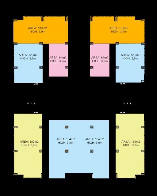 Văn phòng mỹ đình plaza - phương án chia mặt bằng dự kiến