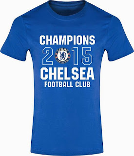 jual online kaos juara champion chelsea primer league 2014/2015