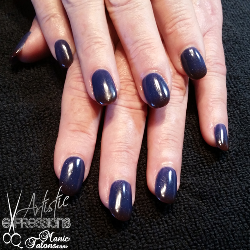 Gel Extensions with Madam Glam What Color Is the Dress