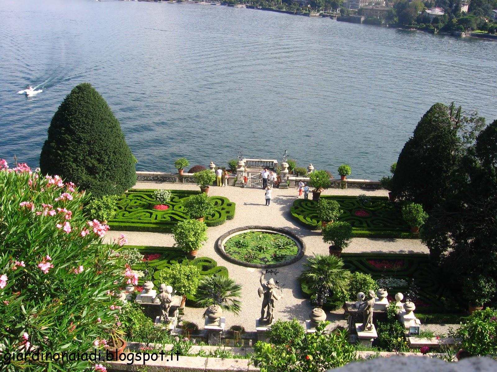 Il giardino delle naiadi romantico giardino inglese for Giardino orientale