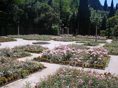 Barcelona a pie for Jardines laribal