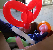 My personalized balloon artist is making yet another appearance on my . (balloon shop medium )