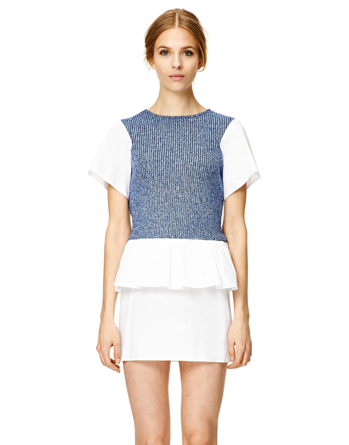 Thakoon Addition Denim Peplum Dress (70% off!)
