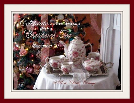 Click to view my Christmas Tea