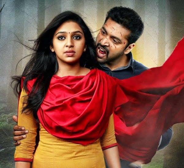 Jayam Ravi Miruthan Telugu dubbing rights sold,miruthan telugu dubbing rights owned by lakshmi prasanna,Laxmi Prasanna Bags Miruthan  Movie Remake Rights