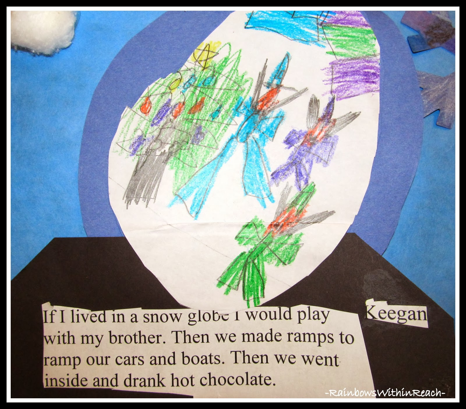 Snowglobe Writing 1st Grade