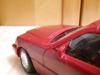 maqueta de la marca LEE del mercedes 600
