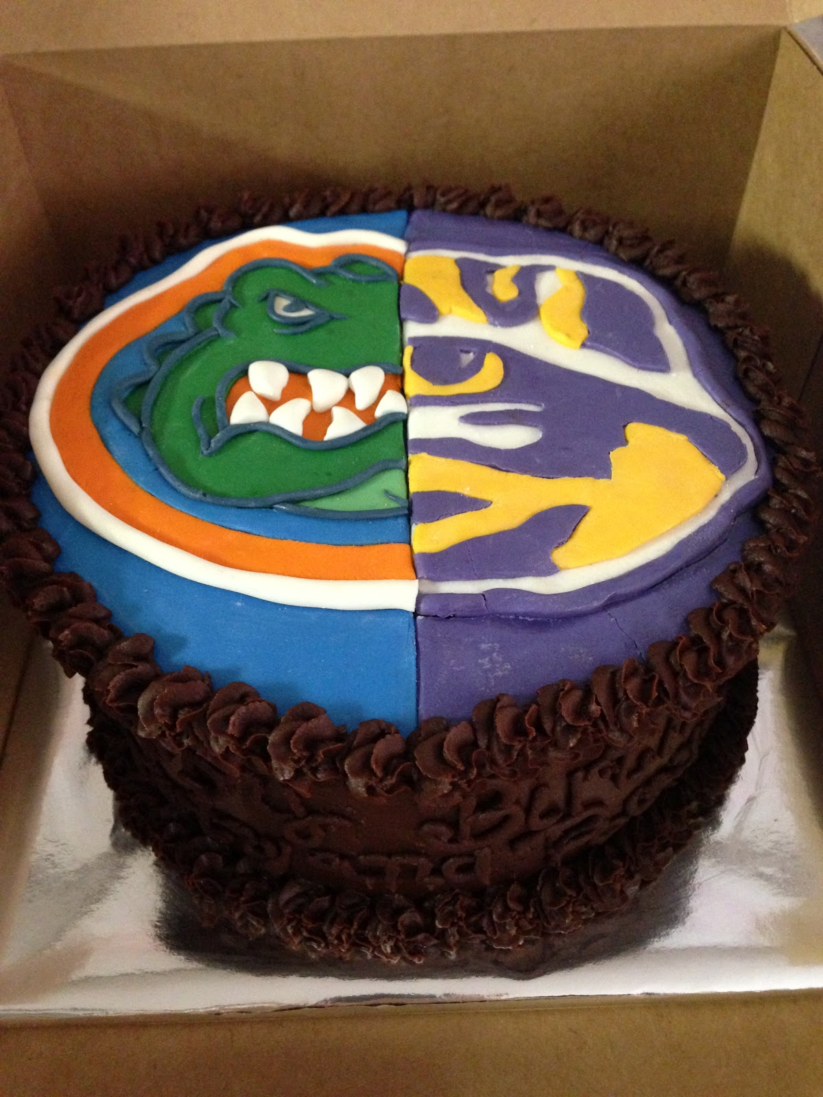 Cakes By Mindy Florida Gators Lsu Tigers Cake 8