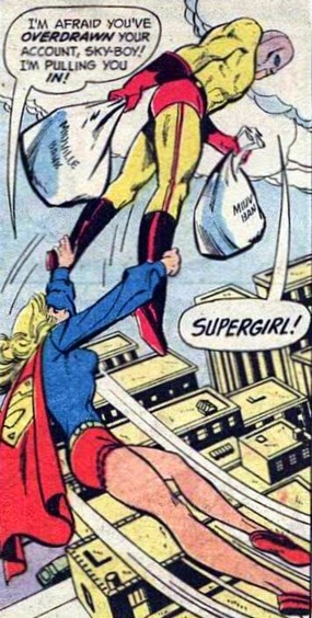 Supergirl #4, Super-David