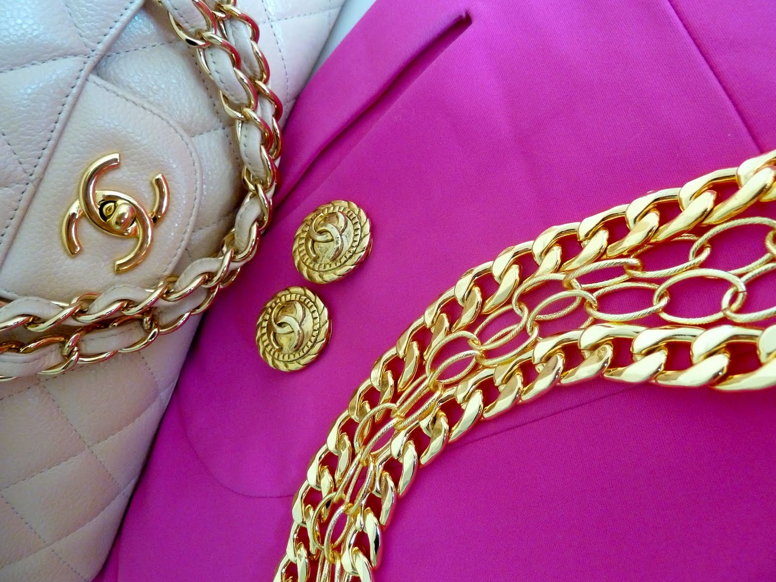 Vintage Chanel Backgrounds Vintage chanel earrings