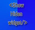 Cara Menampilkan dan Menyembunyikan Widget Pada Halaman Tertentu