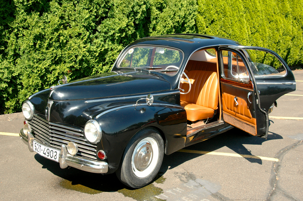 1953 Peugeot 203A sedan.