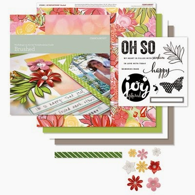 BRUSHED SCRAPBOOKING KIT