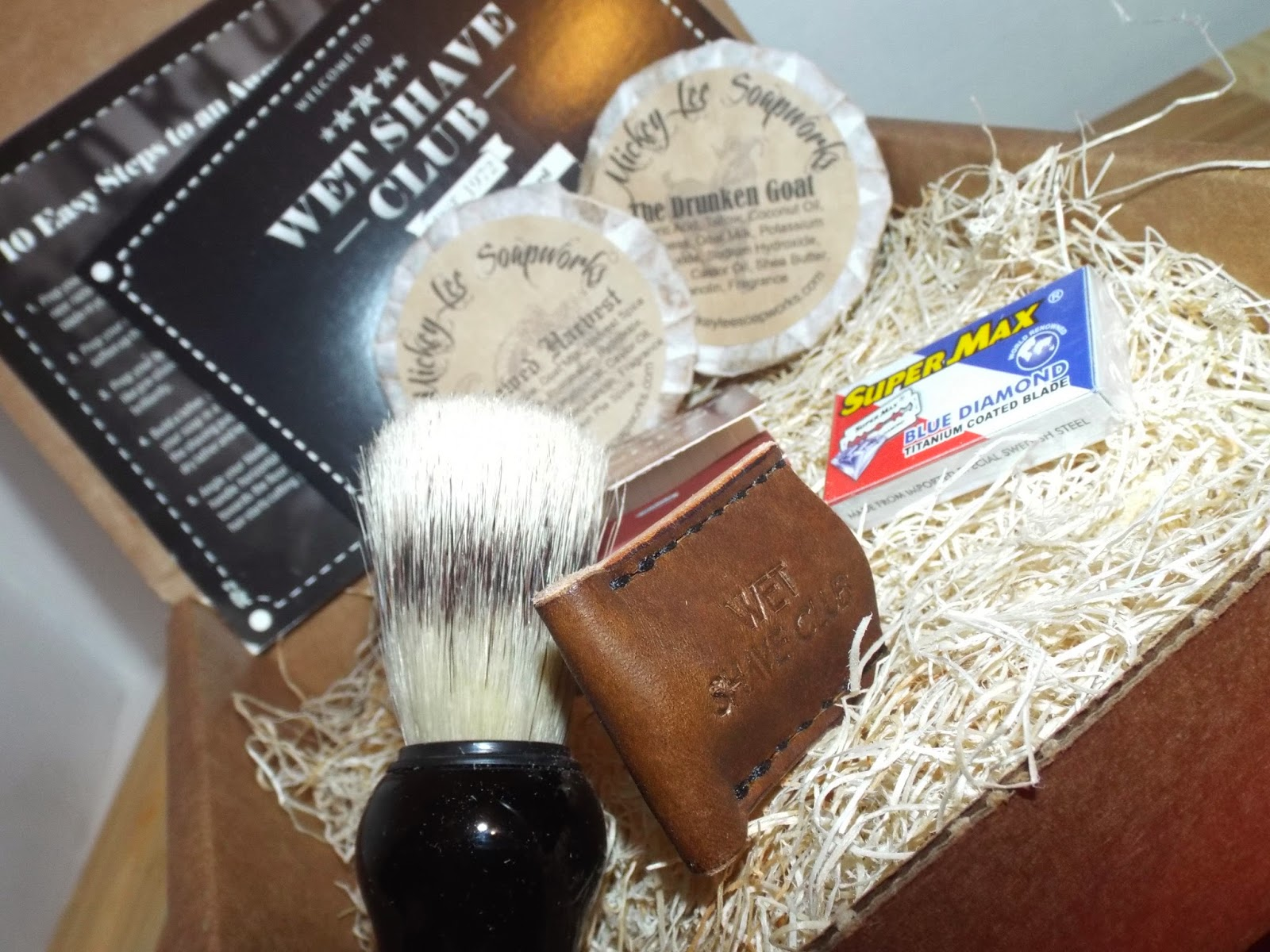Unboxing Wet Shave Club