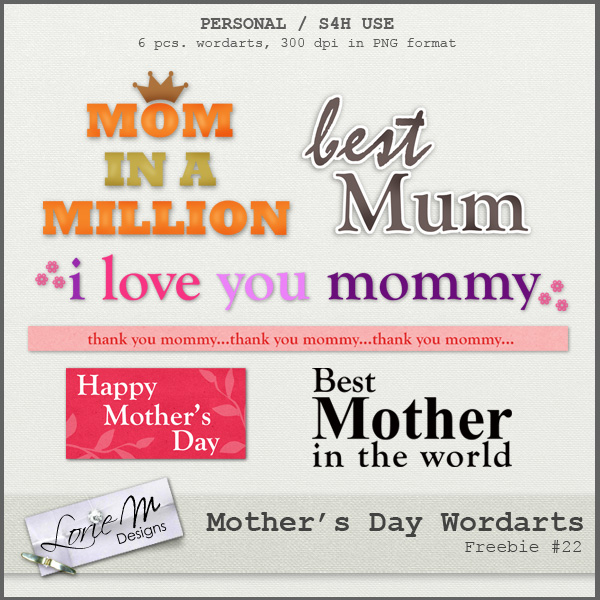 Freebie Mothers Day Flyer Template Design: LorieM Designs: Mother's Day Special Coupon & A FREEBIE