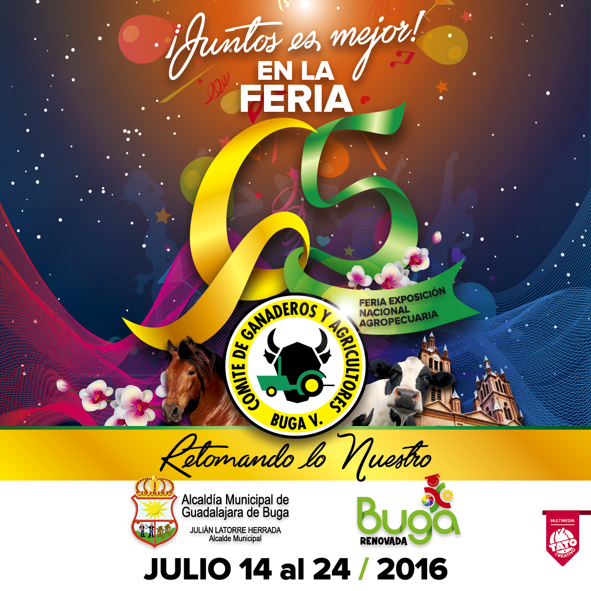 DEL 14 AL 24 DE JULIO VIVE LA FERIA MAS ANTIGUA DE COLOMBIA