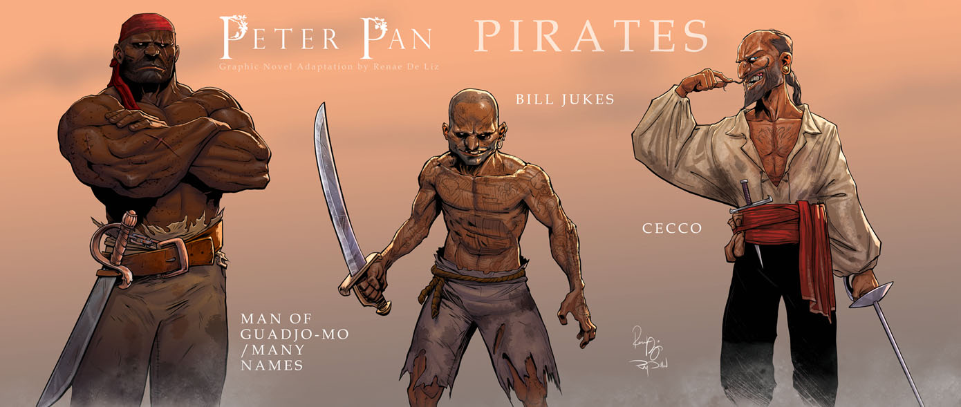 peter pan the graphic novel vol by renae de liz kickstarter rewards