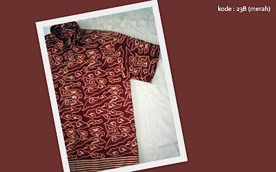 Baju Batik Pria 23B