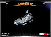 "NBA 2K14 Peak Lightning ""TP"" Tony Parker Signature"