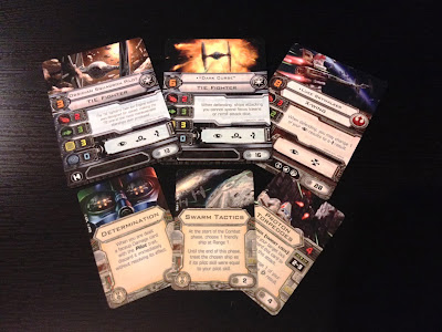 Star Wars X-Wing Miniatures Game cards