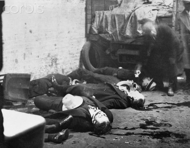 Chicago City Of Big Shoulders 1 St Valentine S Day Massacre