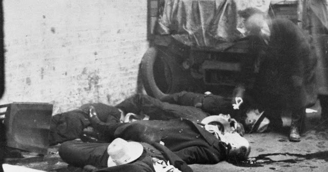 Chicago City Of Big Shoulders St Valentines Day Massacre