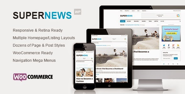 SuperNews Ultimate WordPress Magazine
