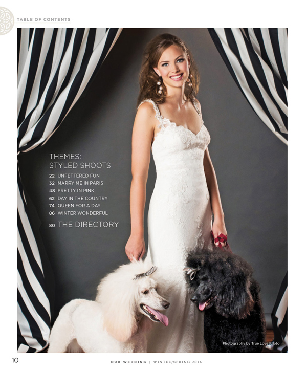 Camille Delany - Cast Images - Our Wedding Magazine - Beth Baugher photo