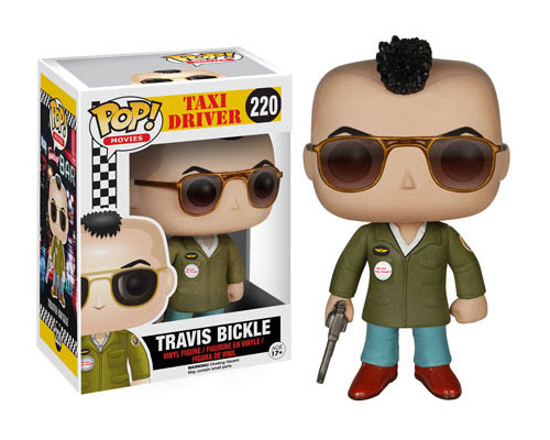 Travis Bickle Taxi Driver Movie Funko Super7 Reaction Action Figure