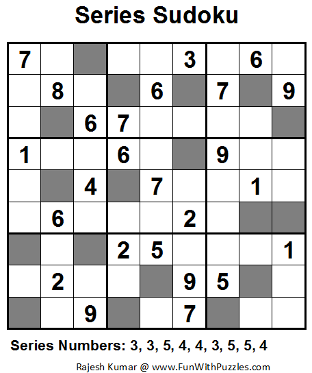 Series Sudoku (Fun With Sudoku #18)