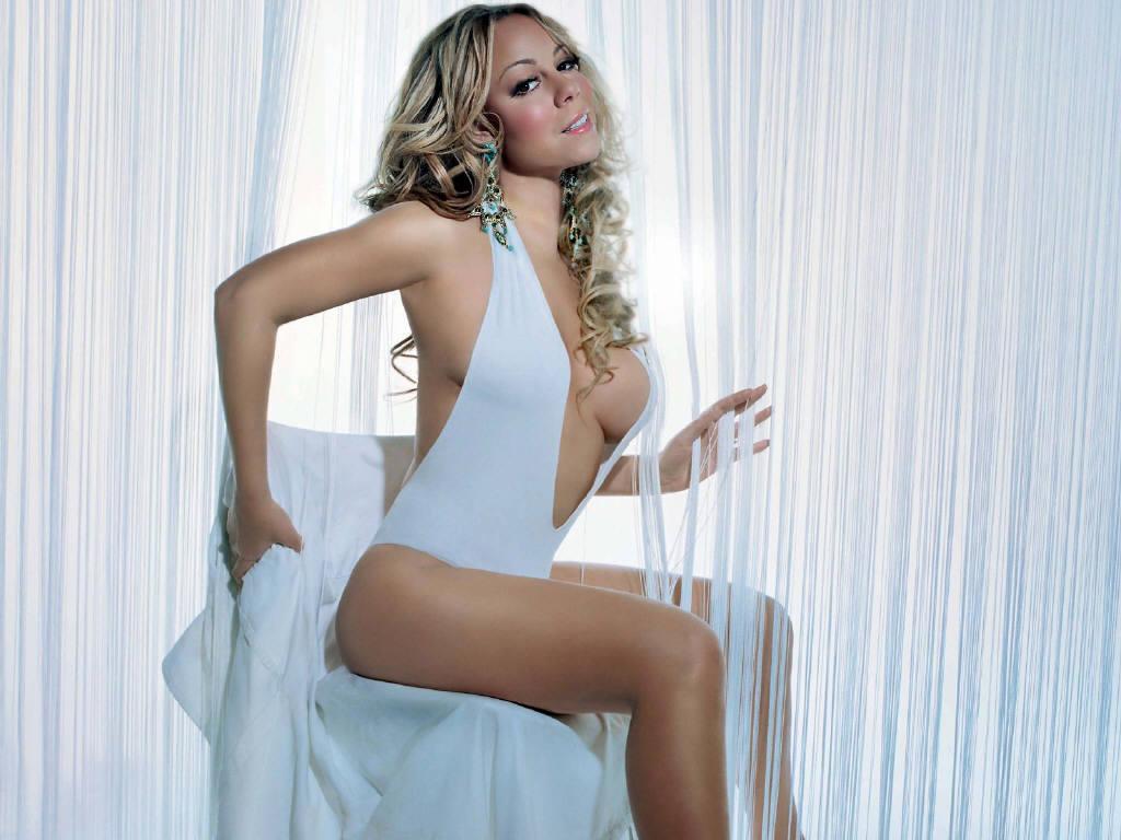 Beautyfull Hollywood Actress Mariah Carey Wallpapers