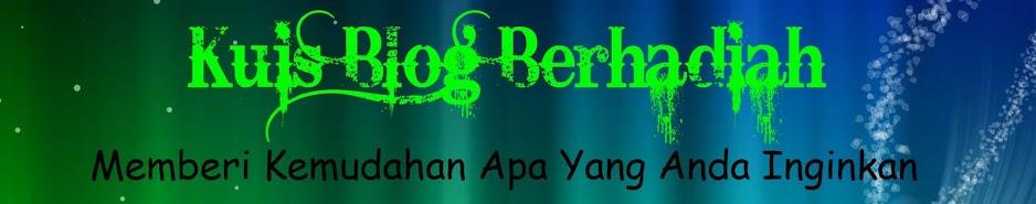 kuis blog berhadiah