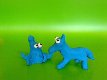 Blæksprutte og hest