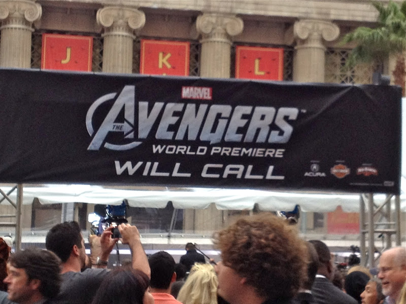 Avengers Movie World Premiere