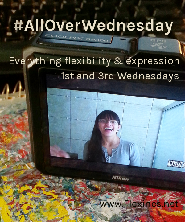 Allover Wednesday on Flexines.net. Everything flexibility and expression - 1st and 3rd Wednesdays.