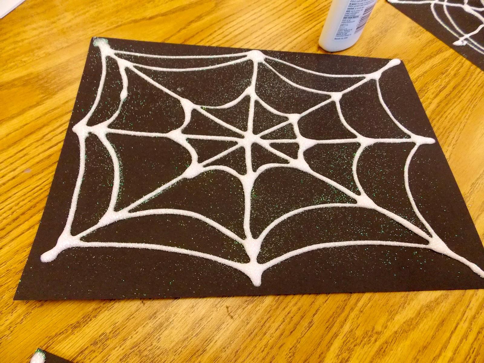 a day in first grade spider week