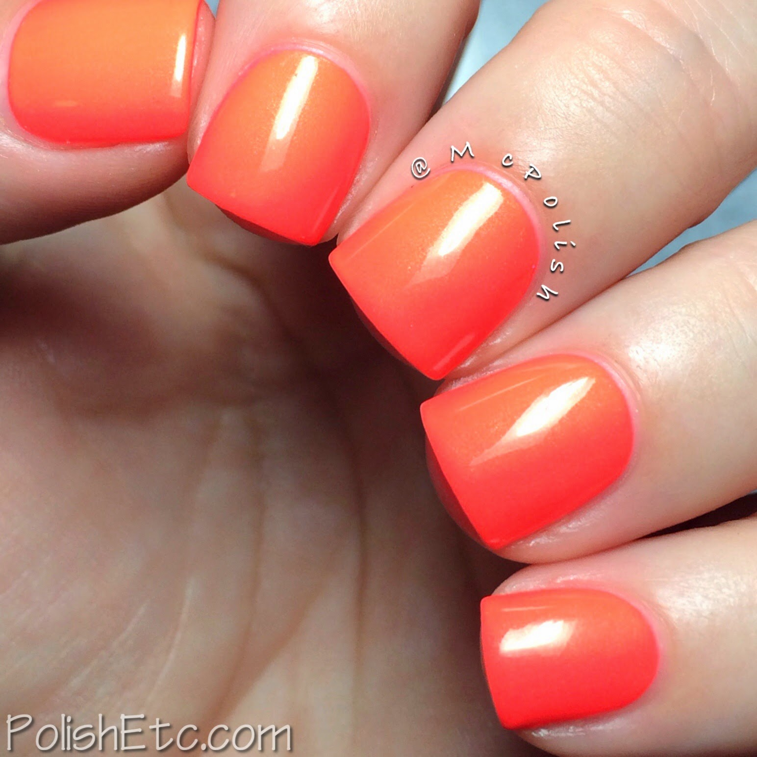 Pipe Dream Polish - A Night in Vegas Neons - 110 Degrees