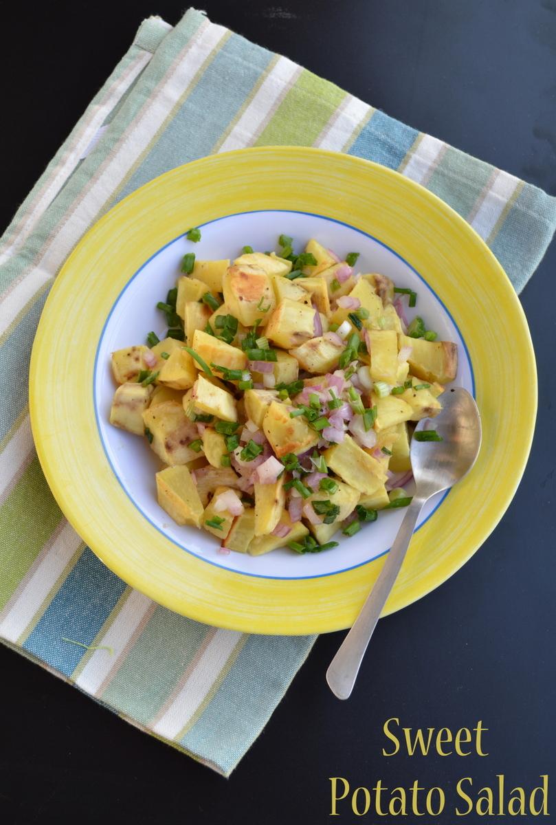 Palakkad Chamayal: Sweet Potato Salad