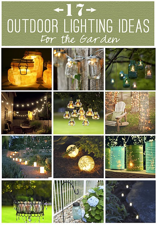 17 Outdoor Lighting Ideas For The Garden Diy Craft Projects