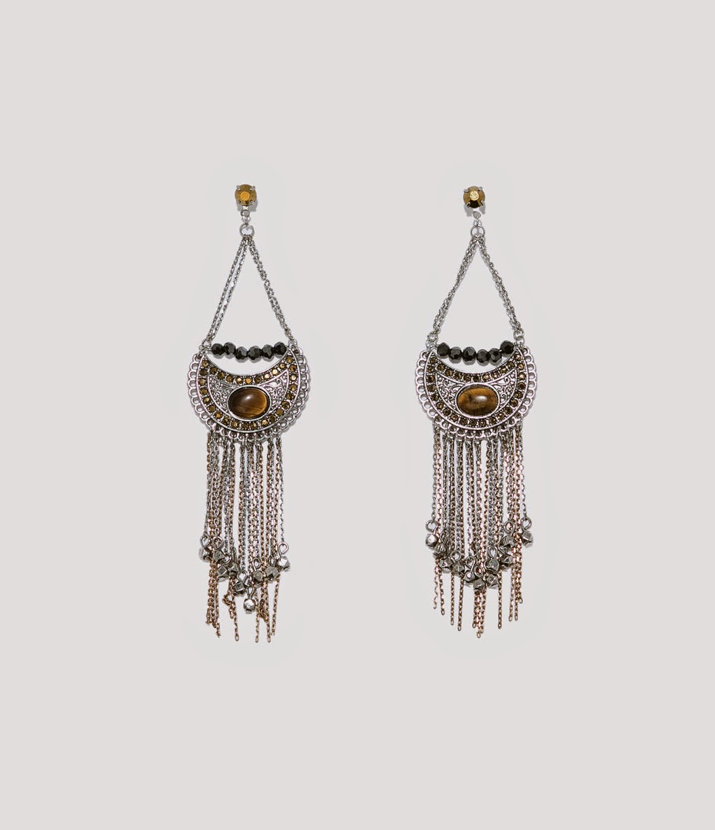 zara earrrings, zara ethnic earrings,