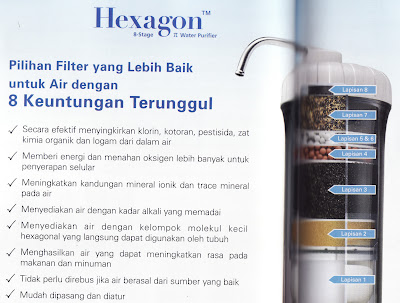 Hexagon™ 8-Stage π Water Purifier