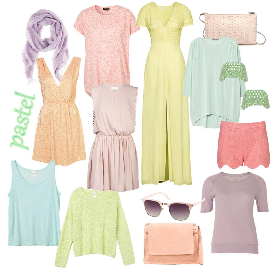 pastel tøj