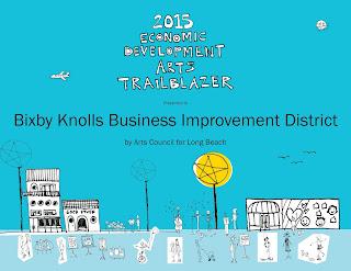 2015 Economic Development Arts Trailblazer - BKBIA