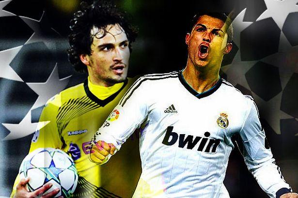 Real Madrid vs Borussia Dortmund  vivo