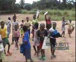 Aldeia Nsamba-Nlangu-alunos