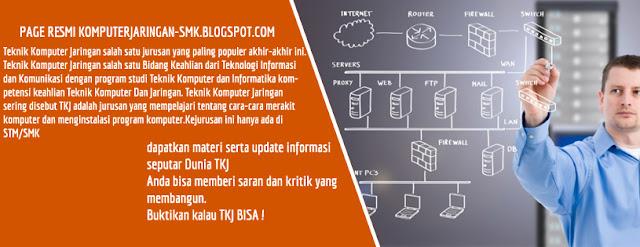 Website khusus Teknik Komputer Jaringan dari SMK N 2 Tambusai Utara