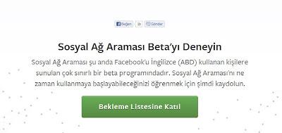 sosyal ağ facebook
